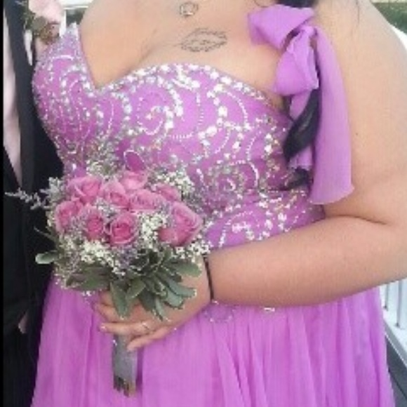dress up time Dresses & Skirts - Plus size corset prom dress